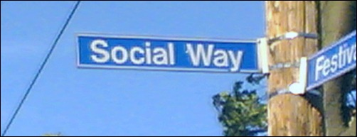 Social sign post